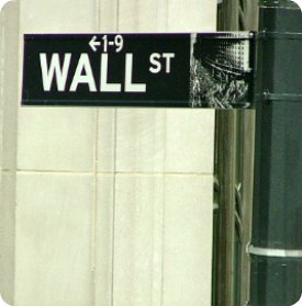Wall Street sign pic